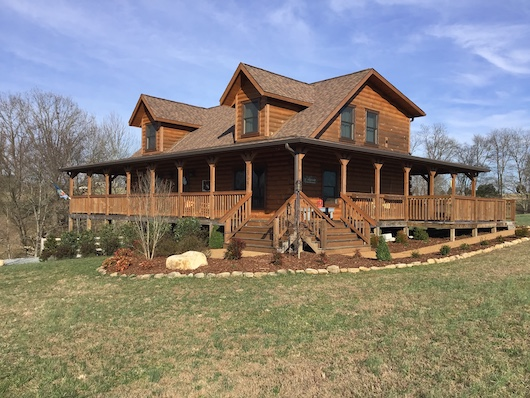 New Log Homes on Honest Abe Tour March 23